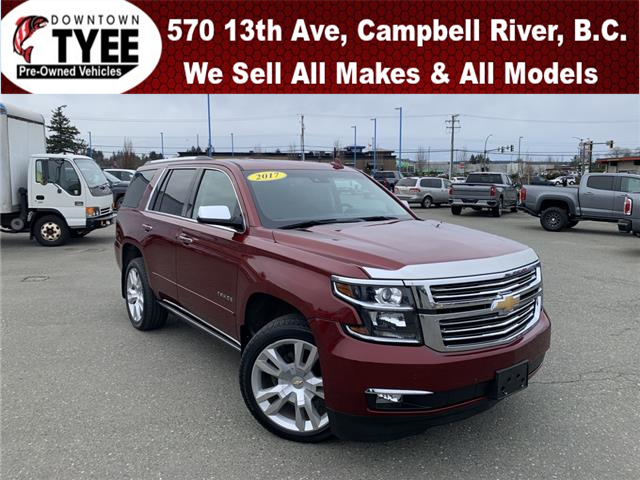 2017 Chevrolet Tahoe Premier (Stk: T20208A) in Campbell River - Image 1 of 28