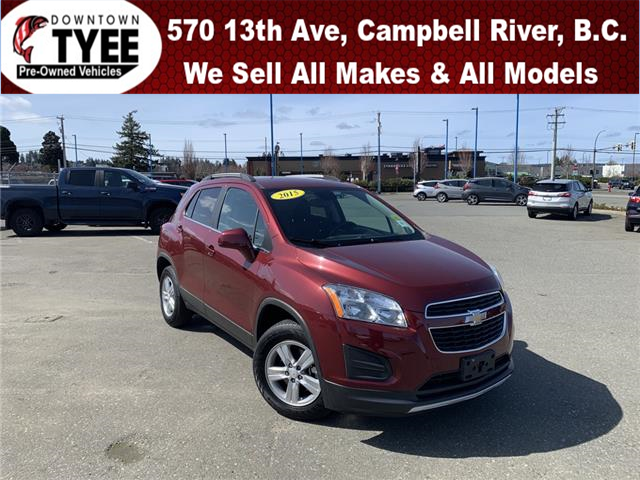 2015 Chevrolet Trax 1LT (Stk: T21011A) in Campbell River - Image 1 of 23