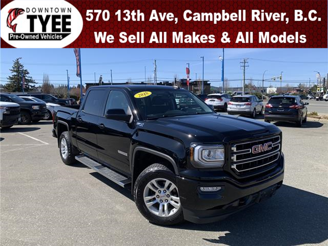 2018 GMC Sierra 1500 SLE (Stk: T21105A) in Campbell River - Image 1 of 27