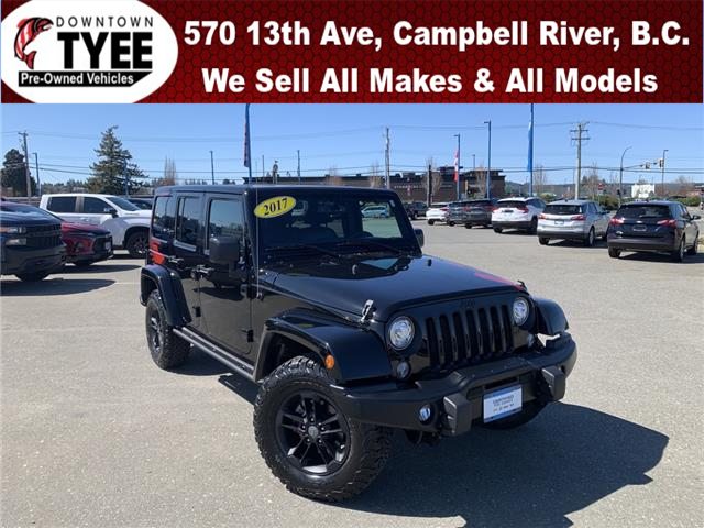 2017 Jeep Wrangler Unlimited Sahara (Stk: T21103B) in Campbell River - Image 1 of 24