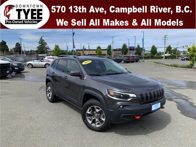 2019 Jeep Cherokee Trailhawk (Stk: T21115A) in Campbell River - Image 1 of 32