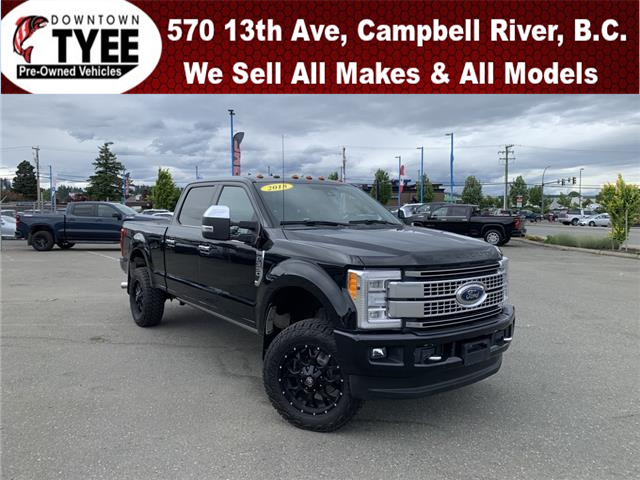 2018 Ford F-350 Platinum (Stk: T21125A) in Campbell River - Image 1 of 33