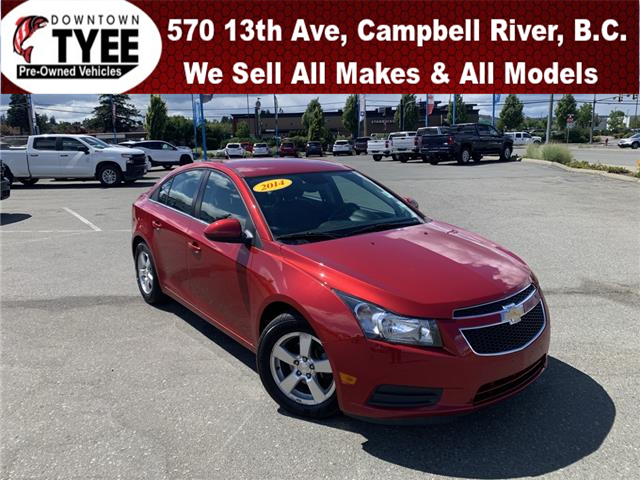 2014 Chevrolet Cruze 2LT (Stk: T21181A) in Campbell River - Image 1 of 22