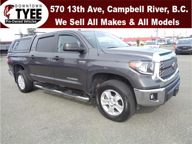 2018 Toyota Tundra SR5 Plus 5.7L V8 (Stk: T22004A) in Campbell River - Image 1 of 18