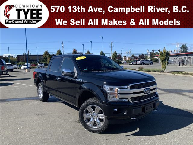 2018 Ford F-150 Platinum (Stk: T21204A) in Campbell River - Image 1 of 34