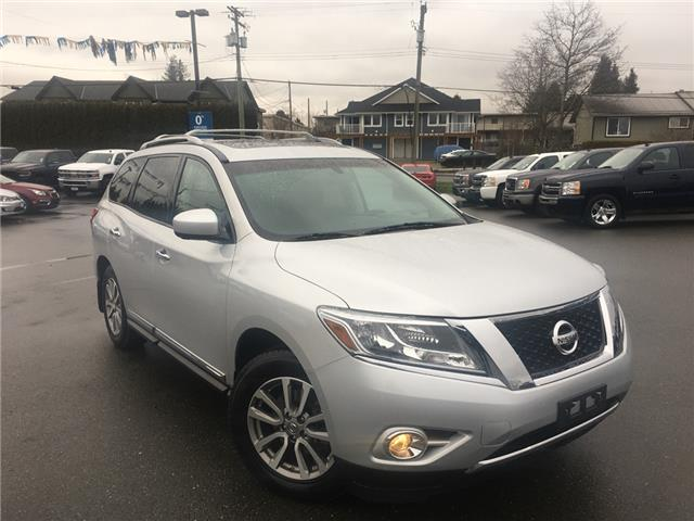 2015 Nissan Pathfinder SL (Stk: M4399B-19) in Courtenay - Image 1 of 34