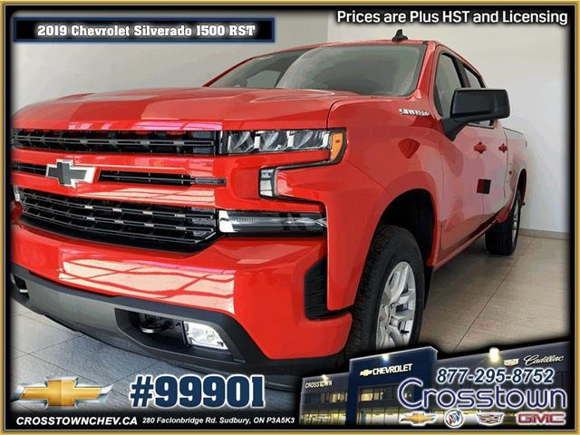 2019 Chevrolet Silverado 1500 RST (Stk: 99901) in Sudbury - Image 1 of 21