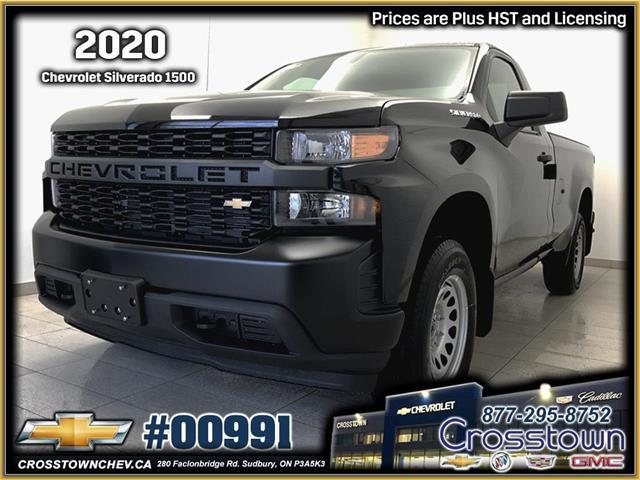 2020 Chevrolet Silverado 1500 Work Truck (Stk: 00991) in Sudbury - Image 1 of 14