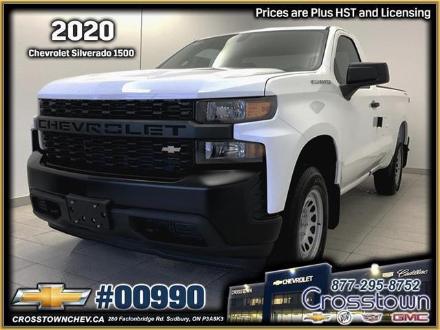 2020 Chevrolet Silverado 1500 Work Truck (Stk: 00990) in Sudbury - Image 1 of 14