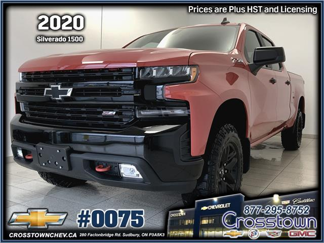 2020 Chevrolet Silverado 1500 LT Trail Boss (Stk: 0075) in Sudbury - Image 1 of 23