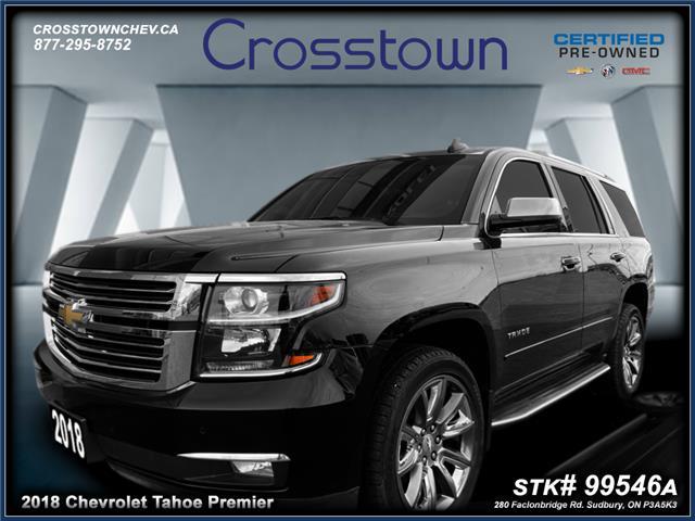 2018 Chevrolet Tahoe Premier (Stk: 99546A) in Sudbury - Image 1 of 24