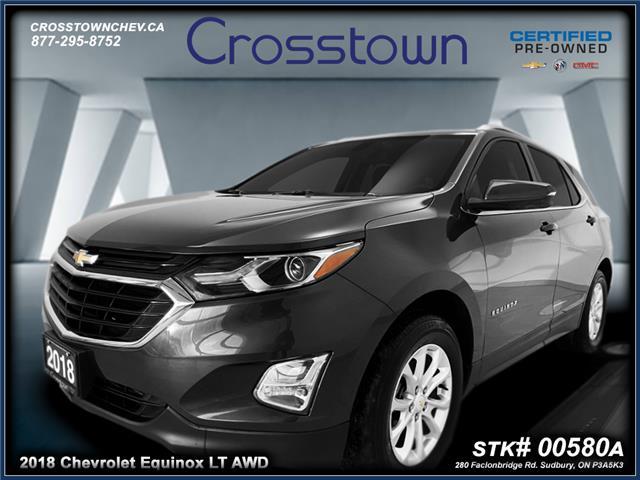 2018 Chevrolet Equinox 1LT (Stk: 00580A) in Sudbury - Image 1 of 22