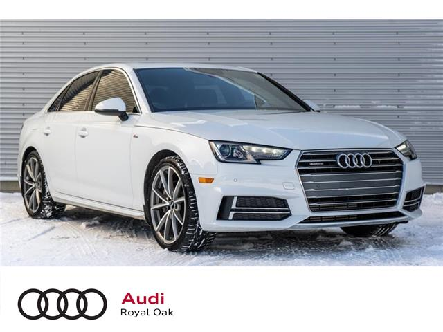 2017 Audi A4 2.0T Progressiv (Stk: U0757) in Calgary - Image 1 of 15
