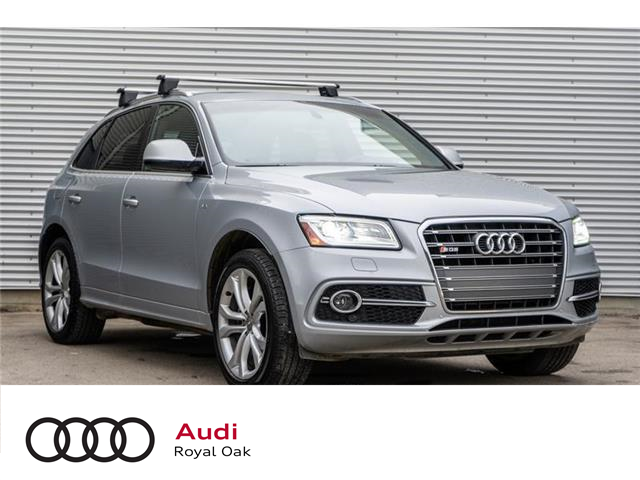 2015 Audi SQ5 3.0T Technik (Stk: U0761) in Calgary - Image 1 of 16