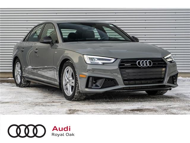 2019 Audi A4 45 Progressiv (Stk: N5239) in Calgary - Image 1 of 16