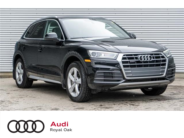 2018 Audi Q5 2.0T Progressiv (Stk: N5472A) in Calgary - Image 1 of 17