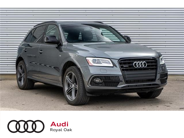 2017 Audi Q5 2.0T Technik (Stk: N5468A) in Calgary - Image 1 of 15