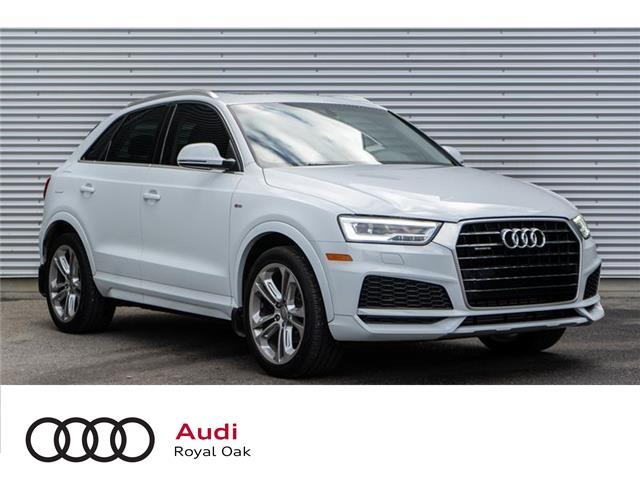 2018 Audi Q3 2.0T Technik (Stk: N5702A) in Calgary - Image 1 of 20