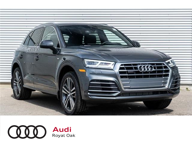 2020 Audi Q5 45 Progressiv (Stk: N5583) in Calgary - Image 1 of 18