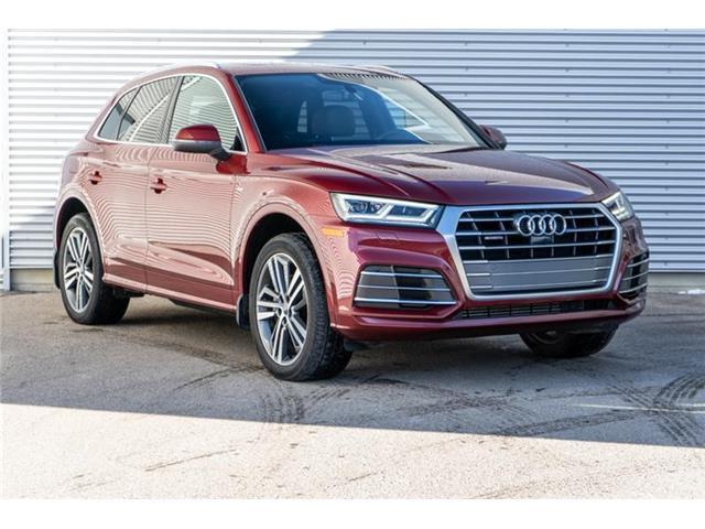 2018 Audi Q5 2.0T Technik (Stk: N5836A) in Calgary - Image 1 of 20