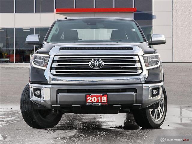 2018 Toyota Tundra Platinum 5.7L V8 (Stk: U11084) in London - Image 2 of 27