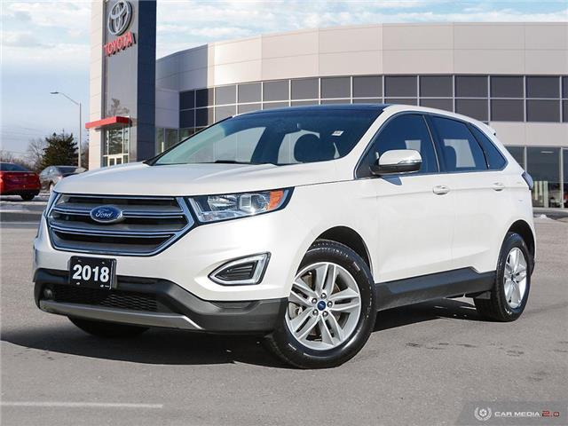 2018 Ford Edge SEL (Stk: A220102) in London - Image 1 of 27