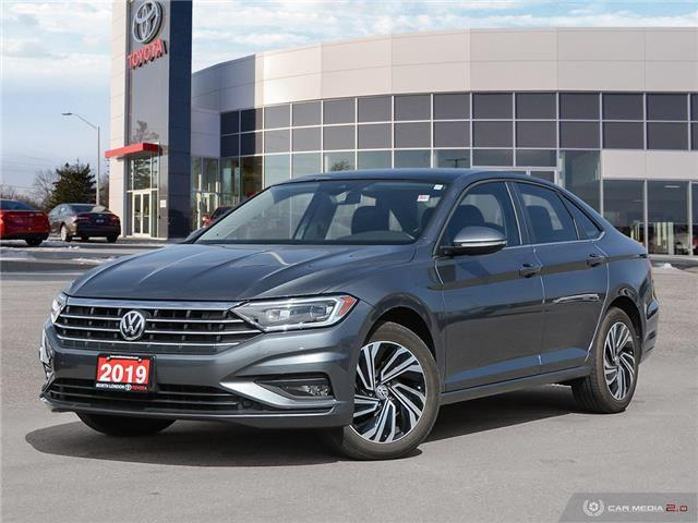 2019 Volkswagen Jetta 1.4 TSI Execline (Stk: A220444) in London - Image 1 of 27