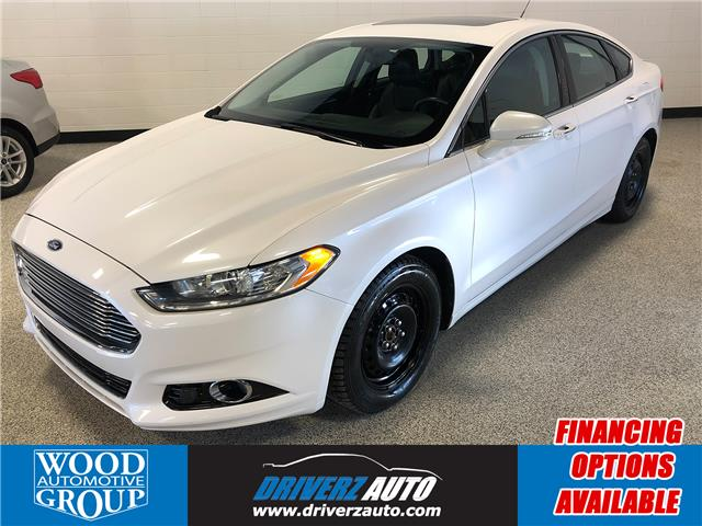 2013 Ford Fusion Titanium (Stk: B12235) in Calgary - Image 1 of 17