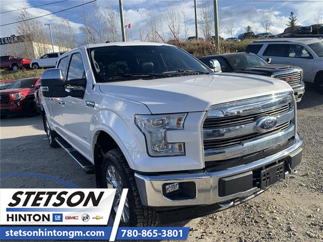 2017 Ford F-150 Lariat (Stk: 19-132A) in Hinton - Image 1 of 18