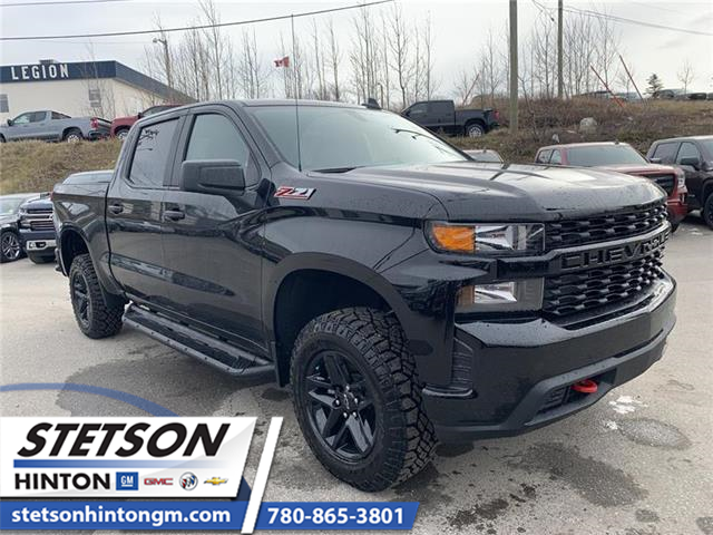 2020 Chevrolet Silverado 1500 Silverado Custom Trail Boss (Stk: 20-025) in Hinton - Image 1 of 21