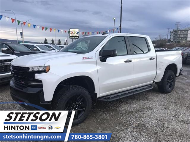 2020 Chevrolet Silverado 1500 LT Trail Boss (Stk: 20-046) in Hinton - Image 1 of 22