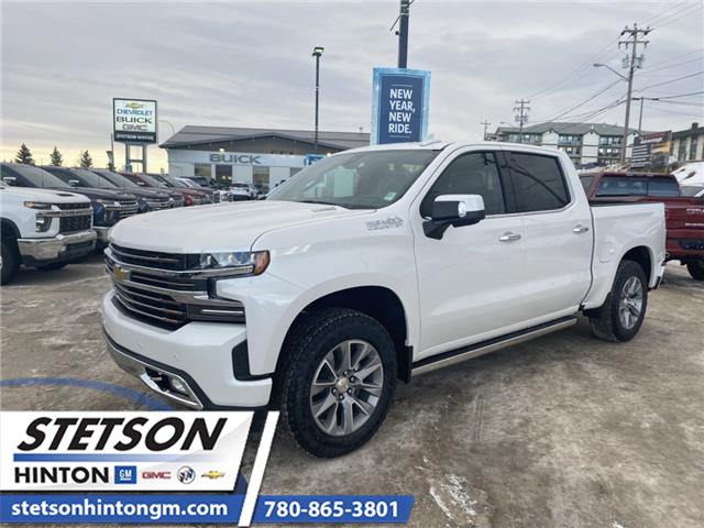 2020 Chevrolet Silverado 1500 High Country (Stk: 20-087) in Hinton - Image 1 of 30