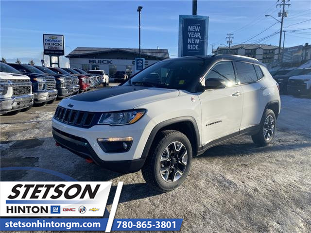 2018 Jeep Compass Trailhawk (Stk: 20-049A) in Hinton - Image 1 of 25