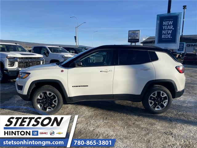 2018 Jeep Compass Trailhawk (Stk: 20-049A) in Hinton - Image 2 of 25