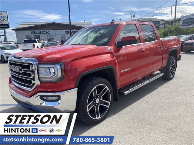 2018 GMC Sierra 1500 SLE (Stk: 18-416A) in Hinton - Image 1 of 20