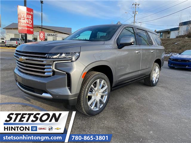 2021 Chevrolet Tahoe High Country (Stk: 21-052) in Hinton - Image 1 of 24