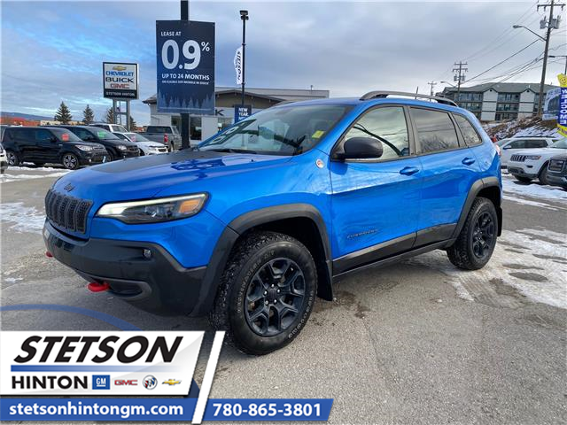 2019 Jeep Cherokee Trailhawk (Stk: 20-215A) in Hinton - Image 1 of 15