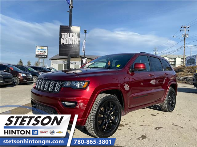 2019 Jeep Grand Cherokee Laredo (Stk: 21-103A) in Hinton - Image 1 of 22