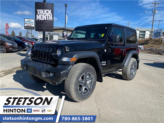 2020 Jeep Wrangler Sport (Stk: 21-101A) in Hinton - Image 1 of 20