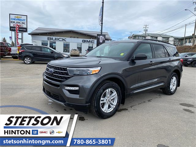 2020 Ford Explorer XLT (Stk: 21-112A) in Hinton - Image 1 of 23