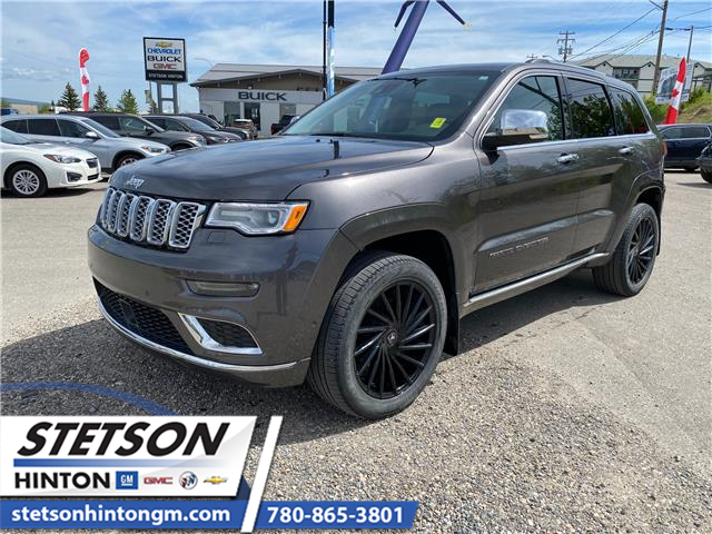 2019 Jeep Grand Cherokee Summit (Stk: 21-144A) in Hinton - Image 1 of 27
