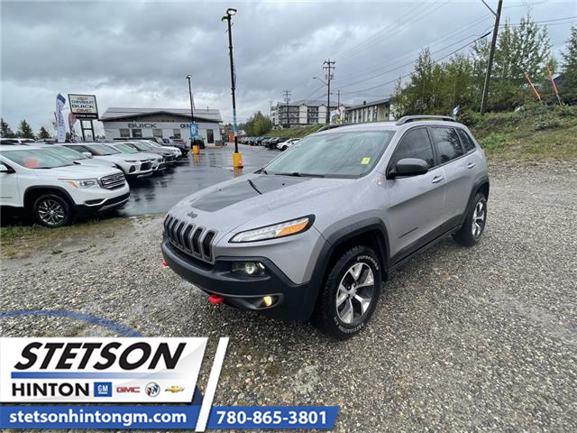 2018 Jeep Cherokee Trailhawk (Stk: 21-208A) in Hinton - Image 1 of 18