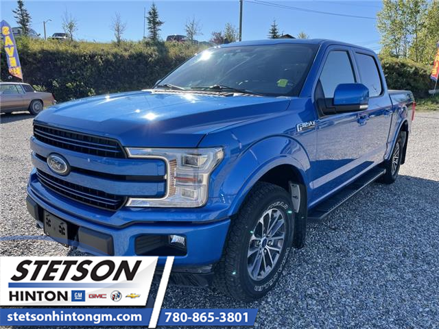 2019 Ford F-150 Lariat (Stk: 21-221A) in Hinton - Image 1 of 18