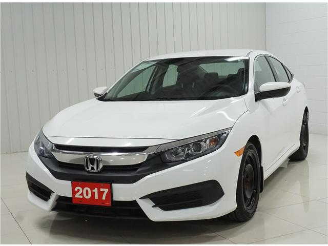 2017 Honda Civic LX (Stk: M19168A) in Sault Ste. Marie - Image 1 of 18