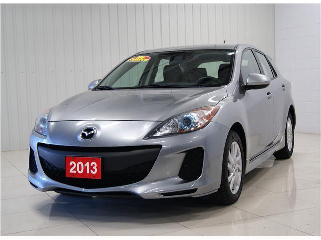 2013 Mazda Mazda3 Sport GS-SKY (Stk: M20135A) in Sault Ste. Marie - Image 1 of 18