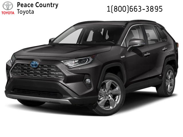 2019 Toyota RAV4 Hybrid Limited (Stk: 19193) in Dawson Creek - Image 1 of 9