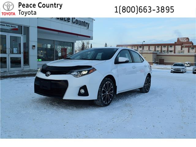 2015 Toyota Corolla S (Stk: 19100A) in Dawson Creek - Image 1 of 14