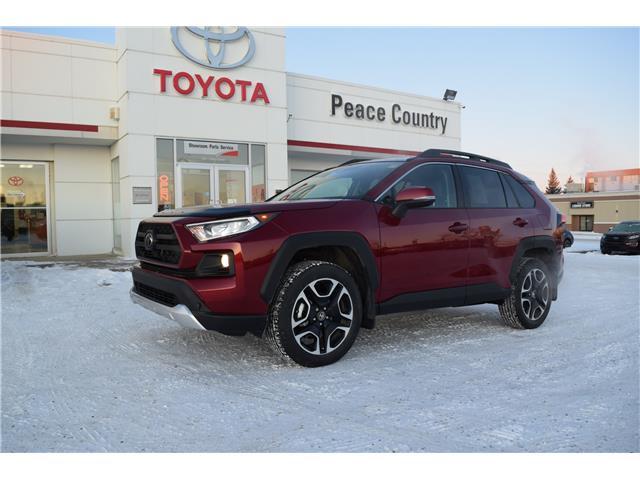 2019 Toyota RAV4 Trail (Stk: 19196) in Dawson Creek - Image 1 of 12