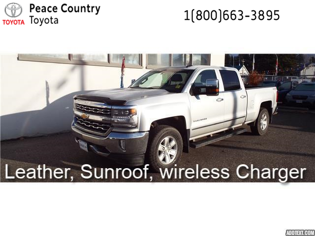 2016 Chevrolet Silverado 1500  (Stk: 8711) in Quesnel - Image 1 of 20