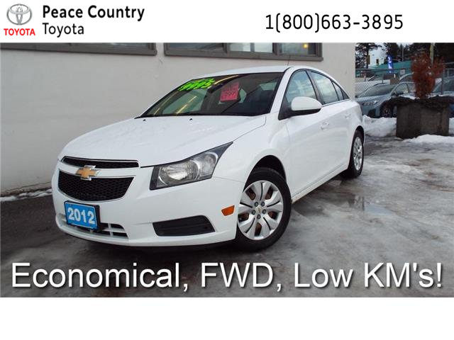 2012 Chevrolet Cruze LT Turbo (Stk: 5389A) in Quesnel - Image 1 of 21